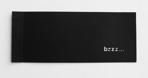 Livre d'artiste. Bzzz... Insectes et typographie. © Florence Boudet