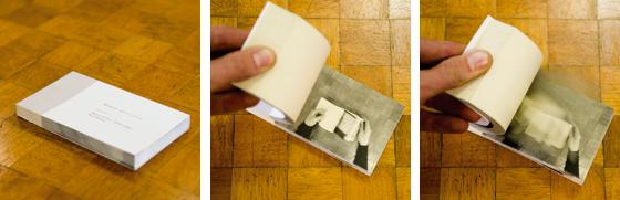 Installation en bibliothèque: Jeanne Feuillette : Série de flipbooks présentant Jeanne qui feuillette des livres. © Florence Boudet