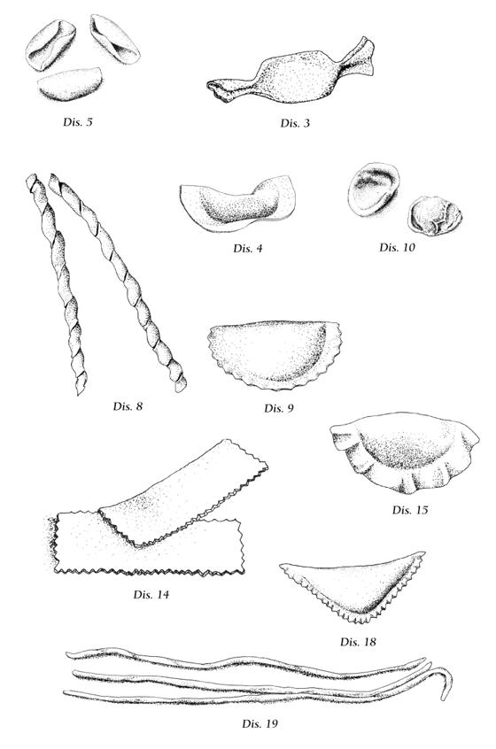 La pasta fresca e ripiena, illustration au rotring. © Florence Boudet