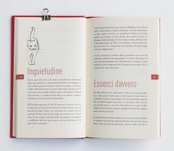 Lo zen del gatto, de Ludovica Scarpa, illustrations, maquette et mise en page. © Florence Boudet