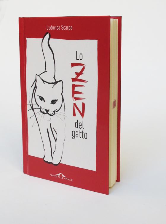 Lo zen del gatto, de Ludovica Scarpa, couverture. © Florence Boudet