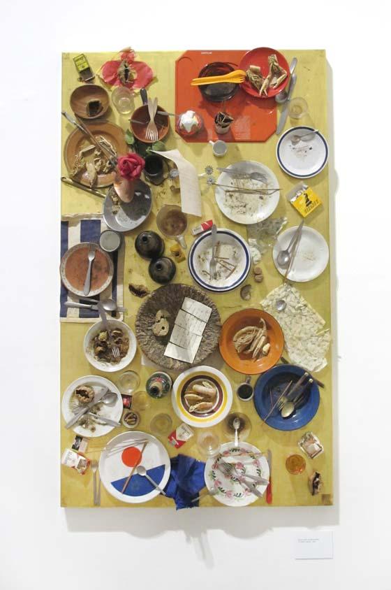 Tableaux tables de Daniel Spoerri