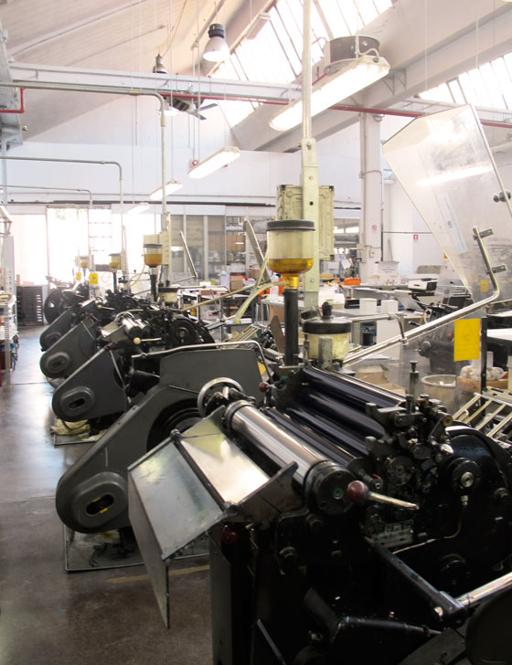 florence boudet - gmund - paper - heidelberg - windmill - letterpress - tipografia - pesatori - typography - workshop - wharehouse - printing - love - type - letterpress - cotton - milan