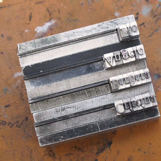 florence boudet - gmund - paper - heidelberg - windmill - letterpress - tipografia - pesatori - typography - workshop - wharehouse - printing - love - type - letterpress - cotton - milan - lead