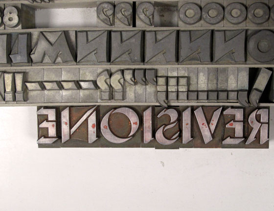 florence boudet - gmund - paper - heidelberg - windmill - letterpress - tipografia - pesatori - typography - workshop - wharehouse - printing - love - type - letterpress - cotton - milan - plate - shadow - letters