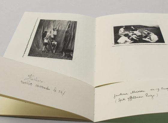 Légendes, Livre d'artiste. photographies anciennes oubliées ©Florence Boudet