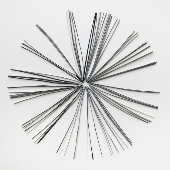 mini sculpture en papier © Florence Boudet