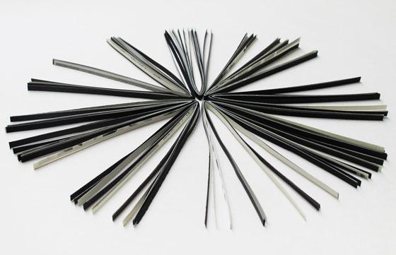 Mini sculpture en papier. © Florence Boudet
