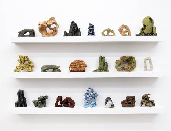 nantes - lieu unique - lu - théo mercier - le grand mess - fantasme de pierre - stones - fantasy - aquarium