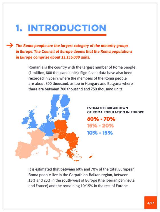 guide en ligne, le peuple Rom et l'accès aux TIC
