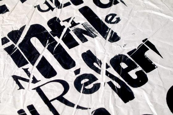 Emballages anciens imprimées en typographie. © Florence Boudet